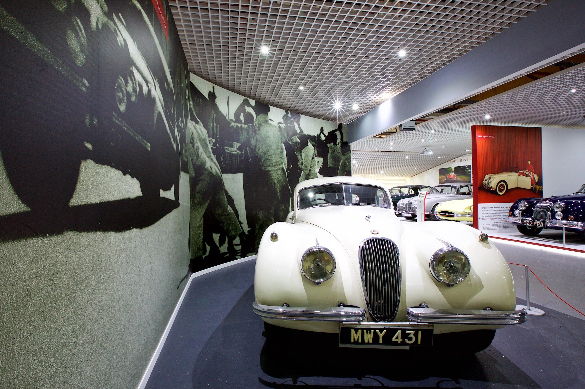 Jaguar Heritage - Coventry Transport Museum