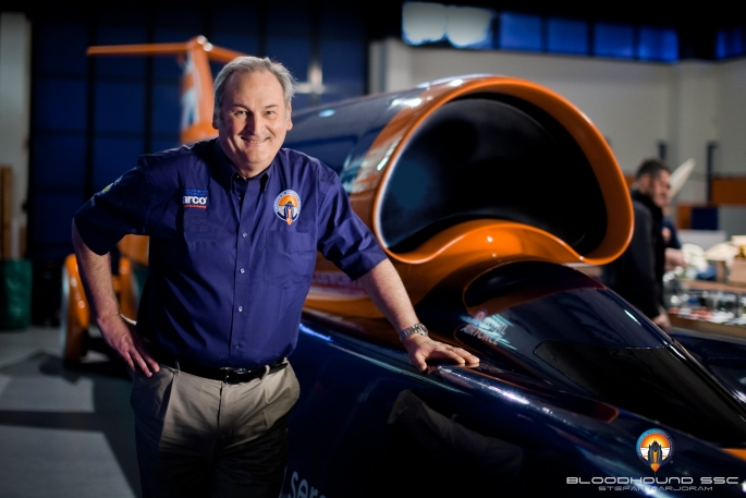 Richard Noble and Bloodhound SSC