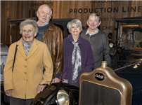 Coventry car company descendants meet at the Transport Museum