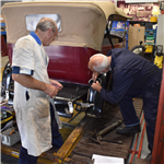 Conserving a car: Humber 16/50 Tourer