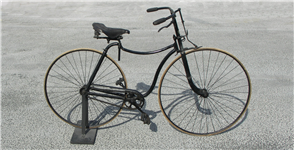 Object of the Fortnight - 1888 Rover Safety Cycle